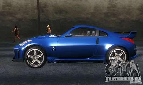 Nissan 350Z Varis для GTA San Andreas вид слева