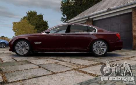 BMW 760Li 2011 для GTA 4 вид слева