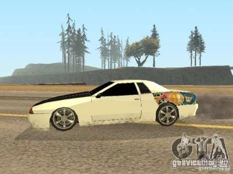 Elegy by Foresto_O для GTA San Andreas вид справа