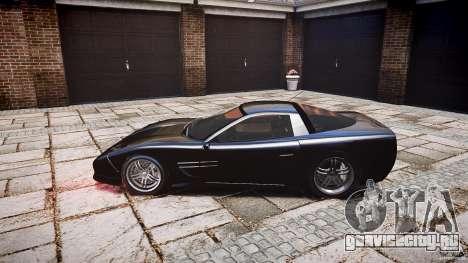 Coquette FBI car для GTA 4 вид сзади