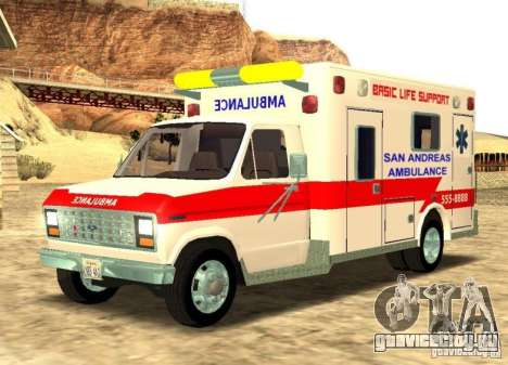 Ford Econoline Ambulance для GTA San Andreas