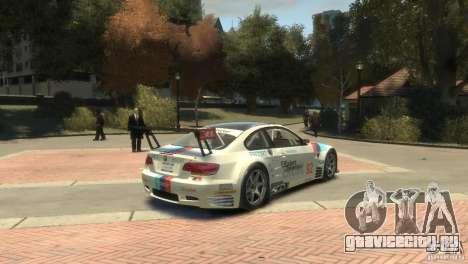 BMW M3 Gt2 для GTA 4 вид справа