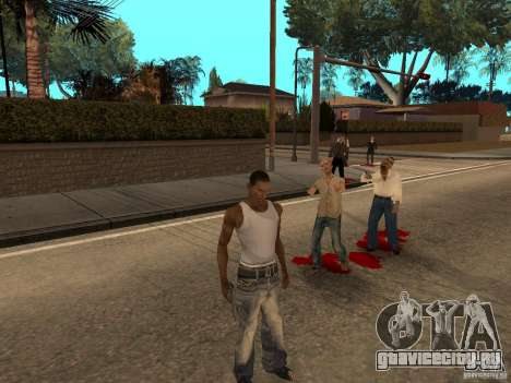 The Walking Dead для GTA San Andreas второй скриншот
