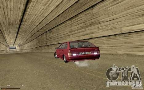 ВАЗ 2114 Quality для GTA San Andreas вид сверху