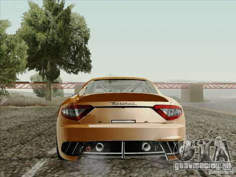 Maserati GranTurismo MC 2009 для GTA San Andreas