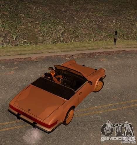 New Comet для GTA San Andreas вид слева