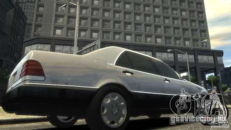 Mercedes-Benz 600SEL wheel1 tinted для GTA 4
