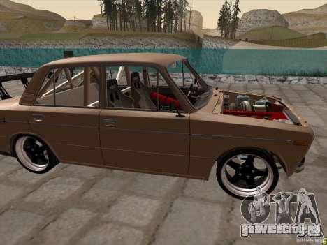 Ваз 2106 drift style для GTA San Andreas вид слева