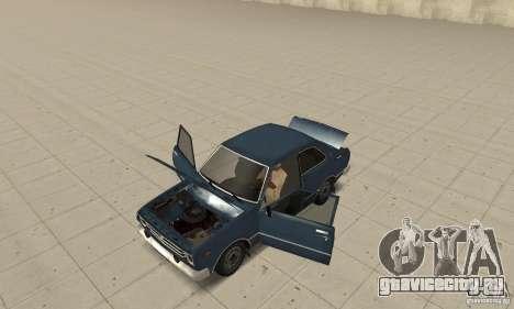 Toyota Corolla 1977 для GTA San Andreas вид сзади