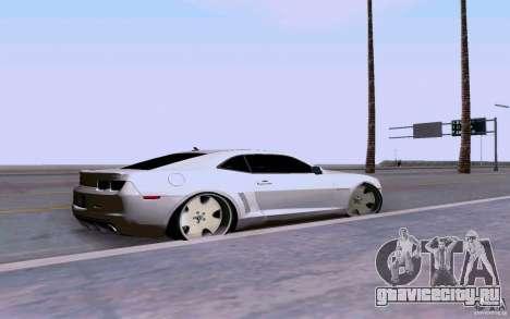 Chevrolet Camaro Super Sport 2012 для GTA San Andreas вид слева