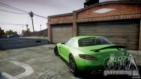 Mercedes-Benz SLS AMG 2010 [EPM] для GTA 4 салон