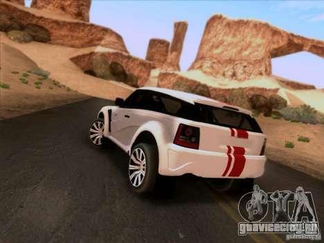 Bowler EXR S 2012 для GTA San Andreas вид слева