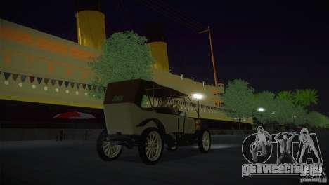 Руссо-Балт С 2440 для GTA San Andreas вид сзади слева