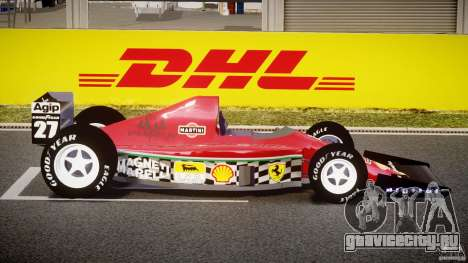 Ferrari Formula 1 для GTA 4 вид изнутри