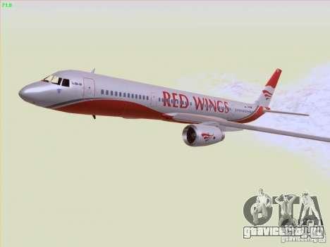 Tupolev Tu-204 Red Wings Airlines для GTA San Andreas вид сверху