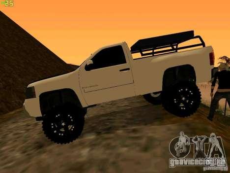 Chevrolet Silverado Final для GTA San Andreas вид слева