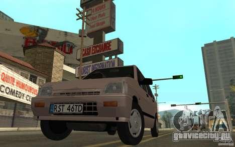 Daewoo Tico SX для GTA San Andreas