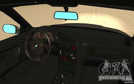 BMW E36 M3 - Stock для GTA San Andreas вид сверху
