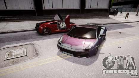 Lamborghini Gallardo Superleggera 2007 (Beta) для GTA 4 вид снизу