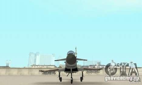 EF-2000 Typhoon V1.3 для GTA San Andreas вид снизу