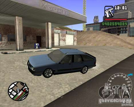 Audi 100 Avant для GTA San Andreas вид слева