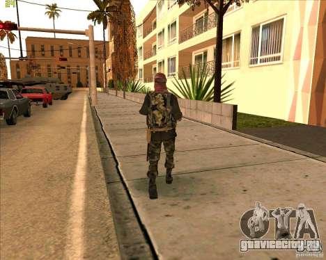 Скин душмана из COD4 для GTA San Andreas третий скриншот