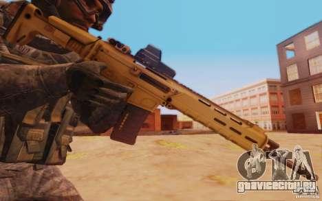 ACR с голографическим прицелом для GTA San Andreas третий скриншот