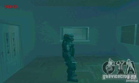 Cпецназовец из Амбреллы для GTA San Andreas пятый скриншот