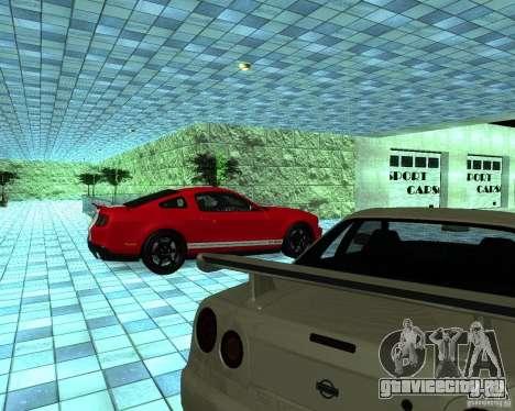HD Автосалон для GTA San Andreas восьмой скриншот