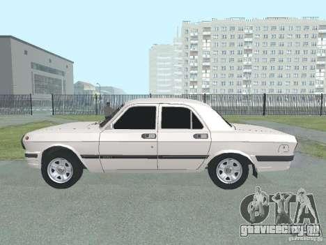 ГАЗ 24-105 Волга для GTA San Andreas вид слева