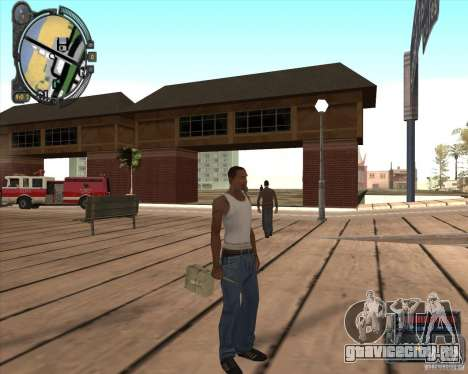 S.T.A.L.K.E.R. Call of Pripyat HUD for SA v1.0 для GTA San Andreas четвёртый скриншот