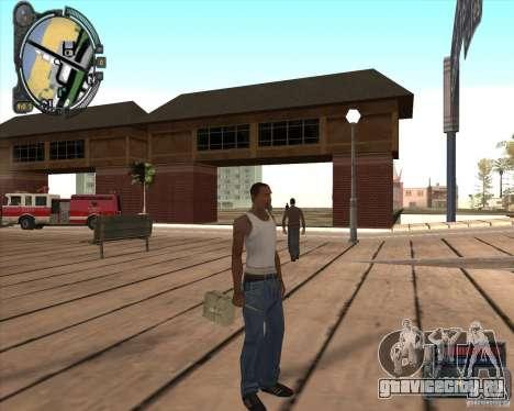 S.T.A.L.K.E.R. Call of Pripyat HUD for SA v1.0 для GTA San Andreas четвёртый скриншот
