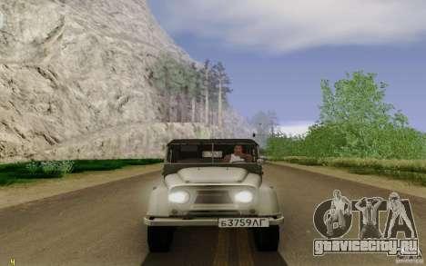 УАЗ 460Б для GTA San Andreas вид справа
