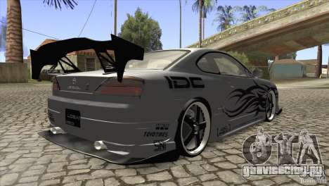 Nissan Silvia S15 Logan для GTA San Andreas вид справа