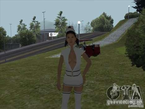 Мод обнажения подруг для GTA San Andreas
