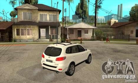 Hyundai Santa Fe для GTA San Andreas вид справа