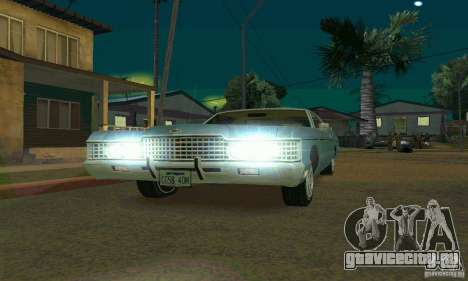 Mercury Monterey 1972 для GTA San Andreas