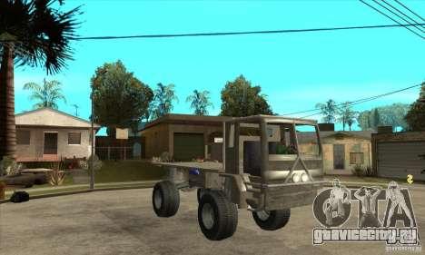 Fast Five Sand King для GTA San Andreas вид сзади