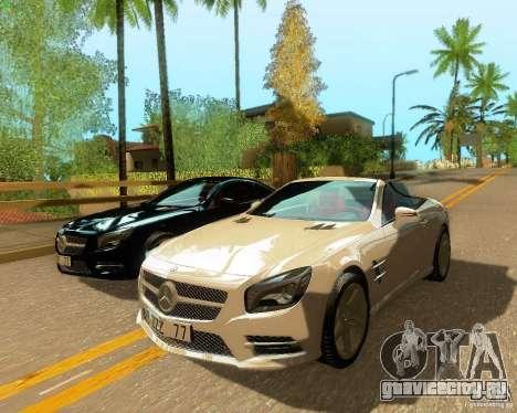 Mercedes-Benz SL350 2013 для GTA San Andreas