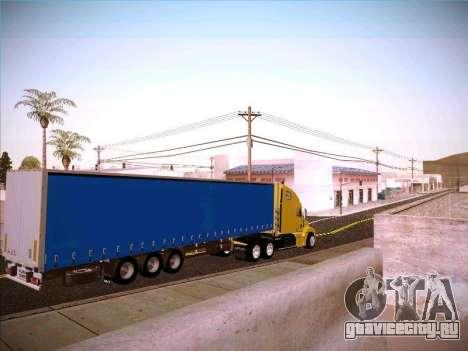 Freightliner Century Classic для GTA San Andreas вид справа