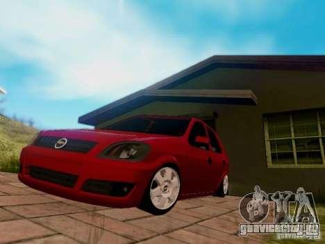 Chevrolet Celta 1.0 VHC для GTA San Andreas вид справа