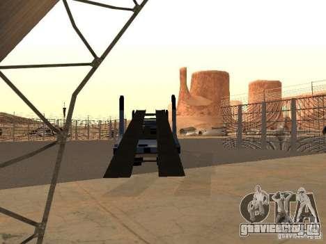 КамАЗ автовоз для GTA San Andreas вид слева