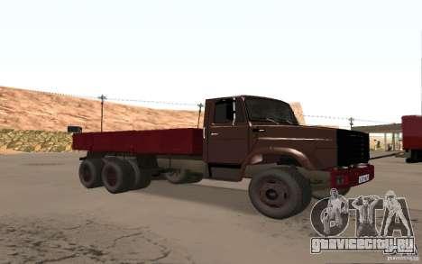 ЗИЛ 6309 для GTA San Andreas вид слева
