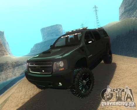 Chevrolet Suburban Crankcase Transformers 3 для GTA San Andreas
