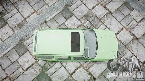 Volvo 850 Turbo 1996 для GTA 4 вид снизу