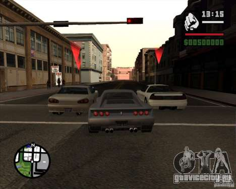 Great Theft Car V1.0 для GTA San Andreas четвёртый скриншот