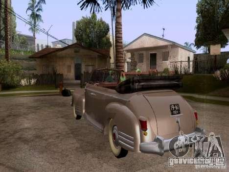 ЗиС-110Б Фаэтон для GTA San Andreas вид слева