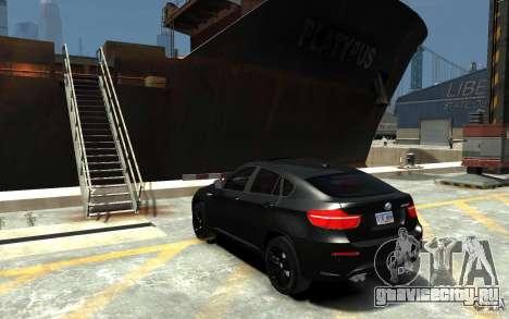 BMW X6 M для GTA 4 вид сзади слева