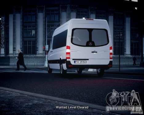 Mercedes-Benz Sprinter Long для GTA 4