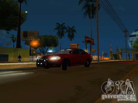 Chevrolet Impala Unmarked для GTA San Andreas вид слева